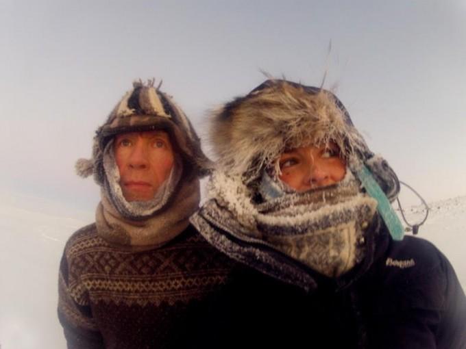Maud Returns Home -prosjektet ICE AND OAK Runhild Olsen og Jan Wanggaard