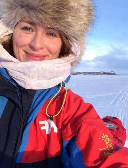 Runhild dro alene til Finnmarksvidda med telt og pulk.